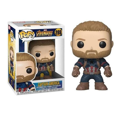 Figurine Pop Marvel Captain America Infinity War