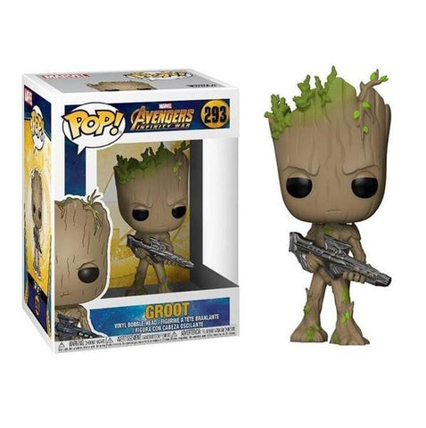 Figurine Pop Marvel Bébé Groot