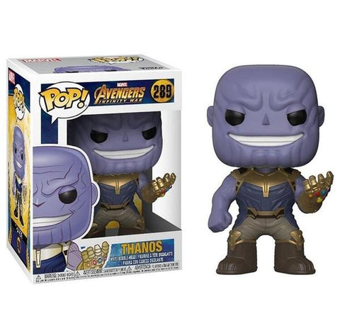 Figurine Pop Marvel Thanos