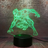 Lampe Marvel 3D Black Panther