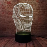 Lampe Marvel 3D Iron Man
