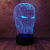 Lampe Led Iron Man