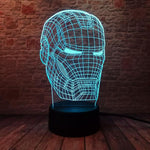 Lampe Led 3D Iron Man