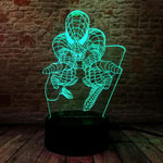 Lampe Led Spiderman-Marvel World Shop