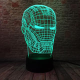 Lampe de Chevet Iron Man