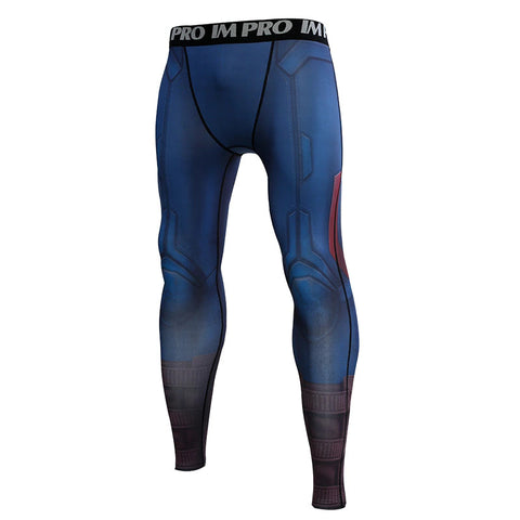 Short Compression Captain America-Marvel World Shop