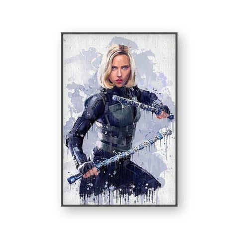 Poster Marvel Black Widow