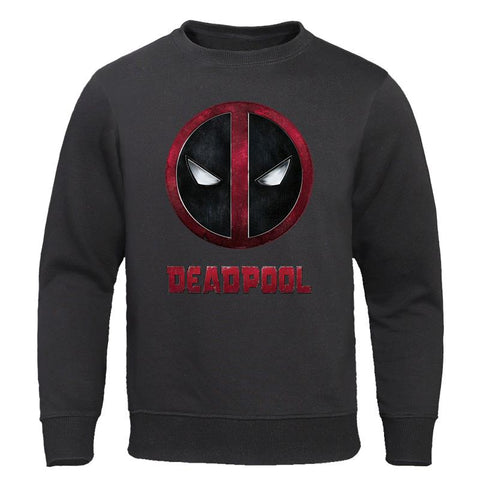 Hot Sale Deadpool Print Autumn Tops Men's Hoodies Casual Tracksuit Hip Hop Sweatshirts Fashion Sportswear High Quality Pullovers