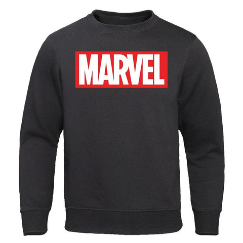 Men's Hoodie 2019 Autumn New fashion MARVEL Print Man Hoodies Sweatshirts Cotton Male Sweatshirt Casual Tops Streetwear Pullover