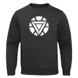 TONY STARK IRON MAN Sweatshirts Autumn Fashion Kpop Hoodies Men Fitness Casual Pullover Loose Harajuku Hoodies avengers Tops