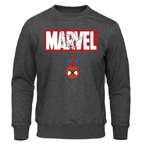 2019 Spring Autumn MARVEL Hoodie Iron Spiderman Sweatshirts Men Tops Casual New Male Hoodies Streetwear The Avengers Pullovers