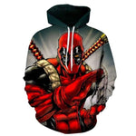 "Sweat Marvel Deadpool ""Couteau""-Marvel World Shop"