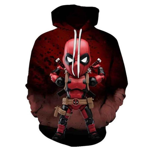 "Sweat Marvel Mini Deadpool ""Prêt au combat""-Marvel World Shop"
