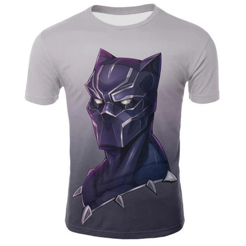 T-Shirt Black Panther Collier-Marvel World Shop