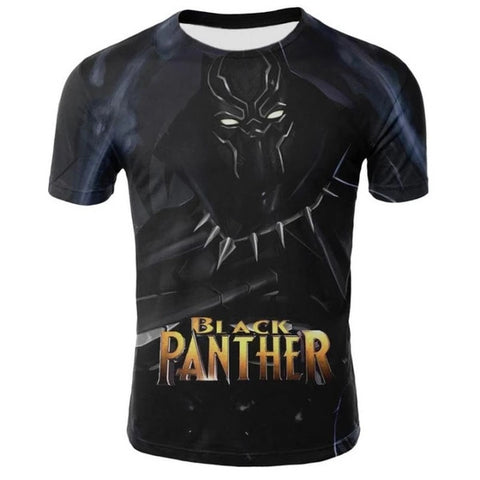 T-Shirt Black Panther-Marvel World Shop