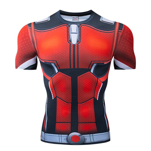 T-Shirt Ant Man Musculation-Marvel World Shop