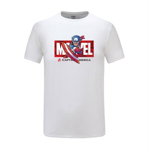 T-Shirt Avengers Captain America-Marvel World Shop