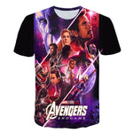 T-Shirt Avengers Cartoon Style-Marvel World Shop