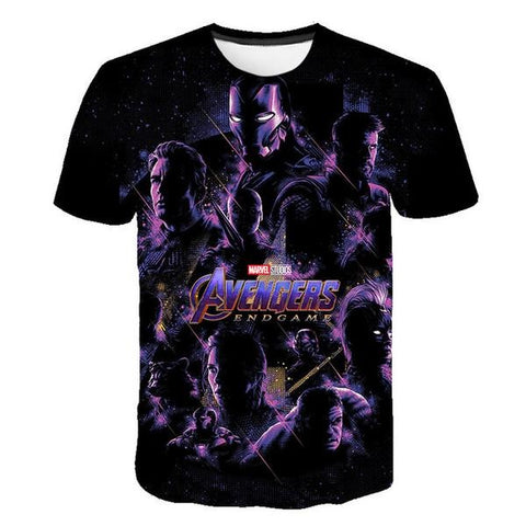 T-Shirt Avengers Endgame 3D-Marvel World Shop