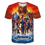 T-Shirt Avengers Thanos & Cie-Marvel World Shop