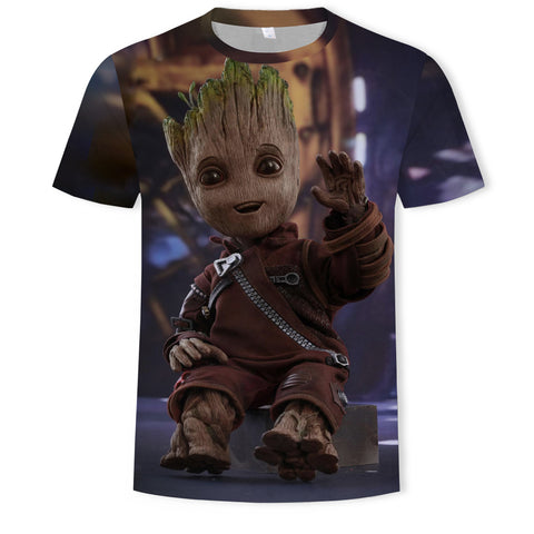 T-Shirt Baby Groot-Marvel World Shop