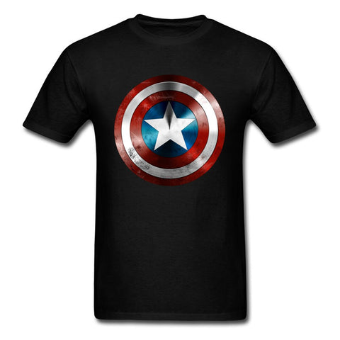 T-Shirt Captain America-Marvel World Shop