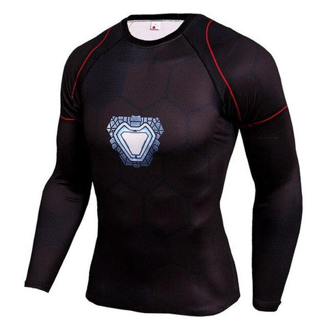 T-Shirt Compression Réacteur Arc-Marvel World Shop