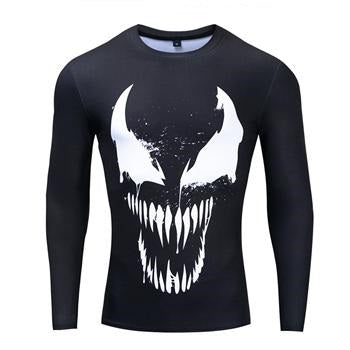 T-Shirt Compression Venom-Marvel World Shop