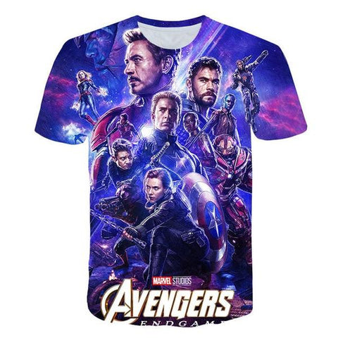 T-Shirt Endgame-Marvel World Shop