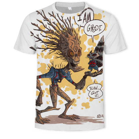 T-Shirt Gardiens de la Galaxie Groot-Marvel World Shop