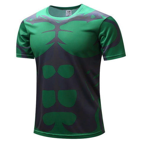 T-Shirt Hulk Homme Sport-Marvel World Shop