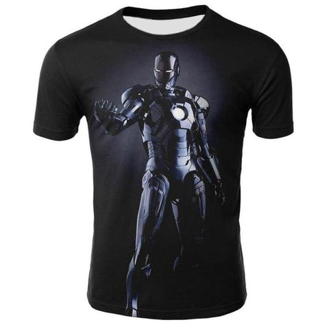 T-Shirt Iron Man-Marvel World Shop