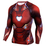 T-Shirt Iron Man Musculation-Marvel World Shop