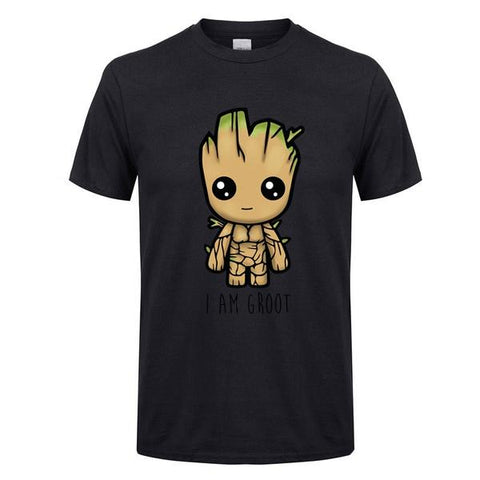 T-Shirt Je S'appelle Groot-Marvel World Shop