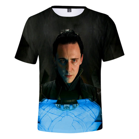 T-Shirt Loki Tesseract-Marvel World Shop