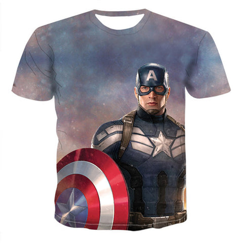 T-Shirt Marvel Captain America-Marvel World
