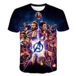 T-Shirt Marvel Endgame-Marvel World Shop