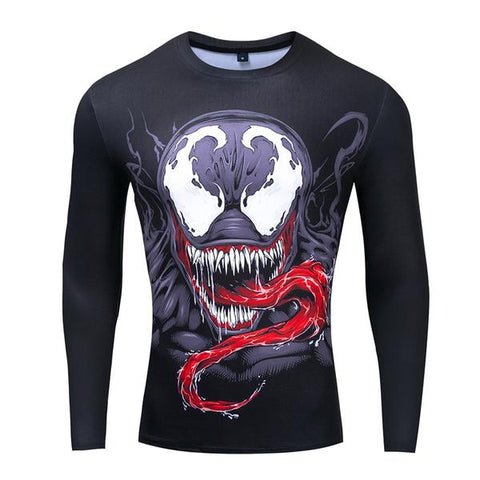 T-Shirt Musculation Compression Venom-Marvel World Shop