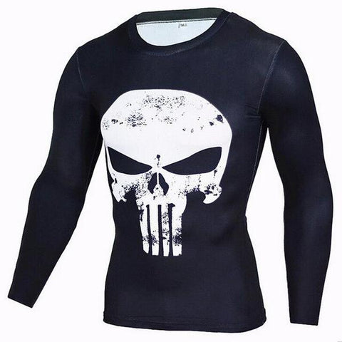 T-Shirt Punisher Sport-Marvel World Shop