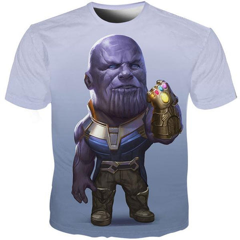 T-Shirt Thanos-Marvel World Shop