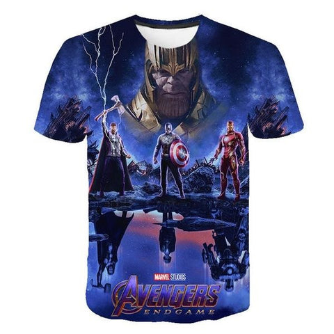 T-Shirt Thanos Endgame-Marvel World Shop