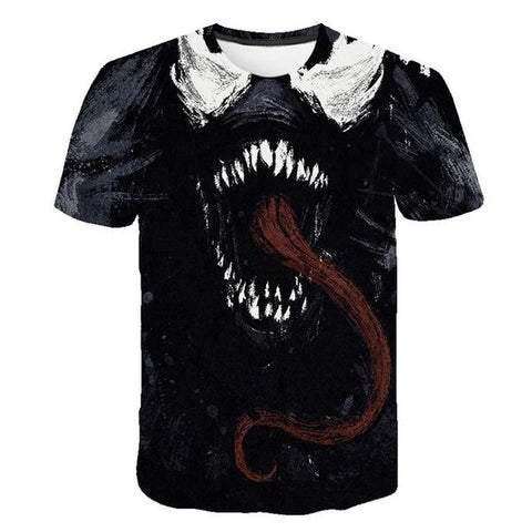 T-Shirt Venom 3D-Marvel World Shop