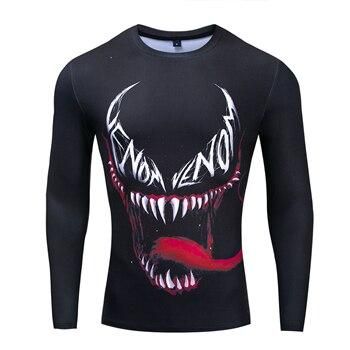 T-Shirt Venom Musculation-Marvel World Shop