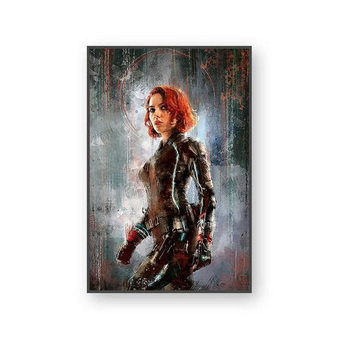 Tableau Marvel Black Widow