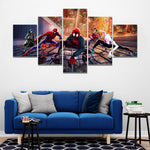 Tableau Marvel Spiderman Into The Spiderverse
