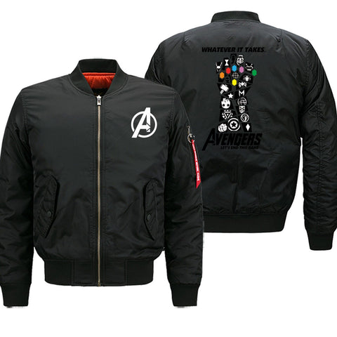 Veste Bomber Marvel<br/> Thanos
