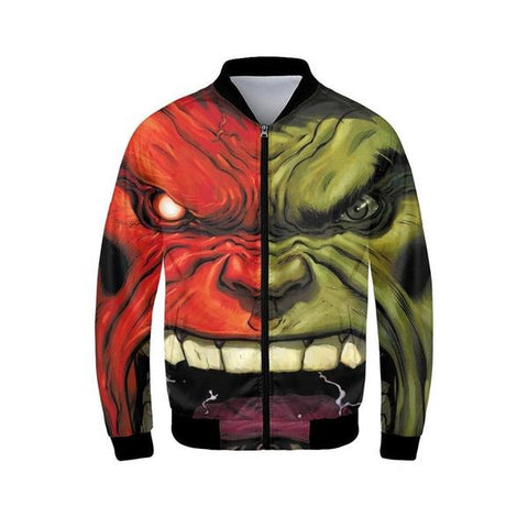 Veste Bomber Marvel Hulk-Marvel World Shop