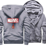Veste Polaire Marvel (Gris)-Marvel World Shop