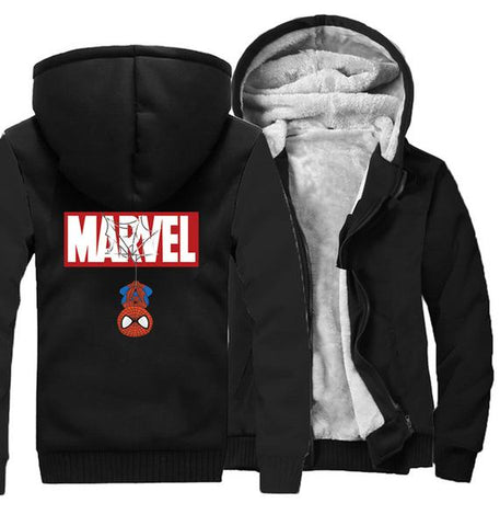 Veste Polaire Spiderman-Marvel World Shop