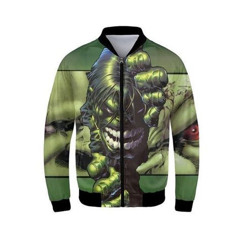 Veste Teddy Hulk-Marvel World Shop